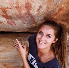 Rotstekeningen san bushmans kloof reserve