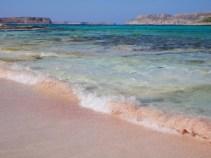 Roze zand elafonissi