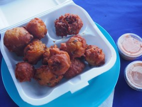 Rum Runners Conch fritters