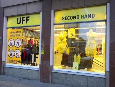 Second hand shop uff helsinki