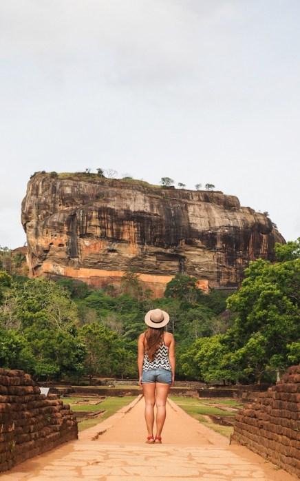 Sigiriya Sri Lanka entree