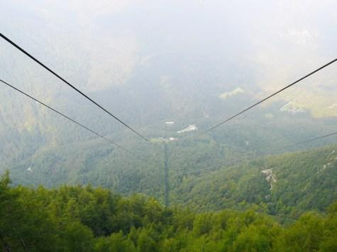 Skilift naar Velika Planina