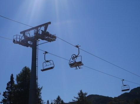 Slovenie outdoor skilift vogel