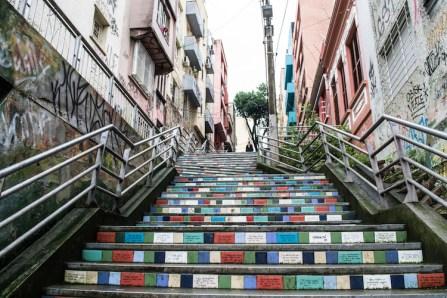 Straat Porto Alegre brazilie