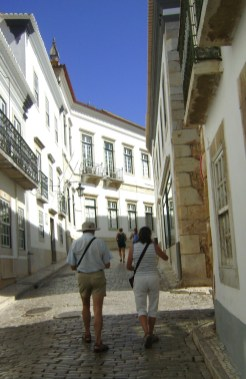 Straatjes Faro Algarve