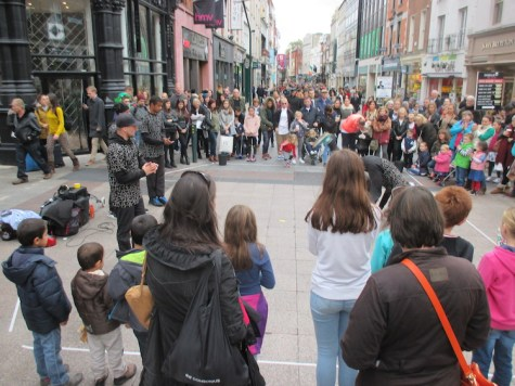 straatartiesten grafton street