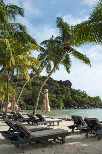 Strand paradise sun hotel praslin seychellen