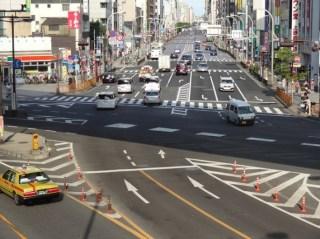 Straten in Tokyo