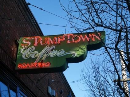 Stumptown coffee