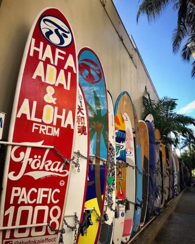Surfboards aloha hawaii