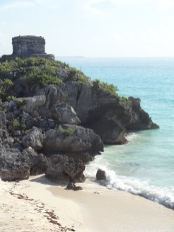 Tempel in Tulum Mexico