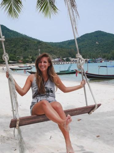 Thailand koh phangan schommel