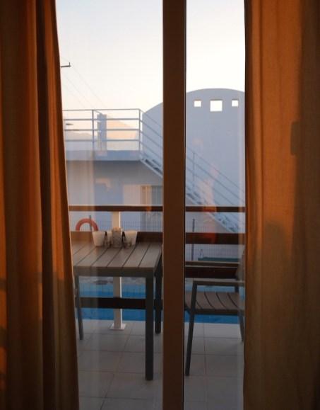 Tijd voor de zonsondergang Kreta