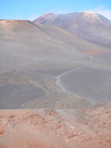 Top etna vulkaan