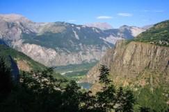 Uitzicht franse alpen