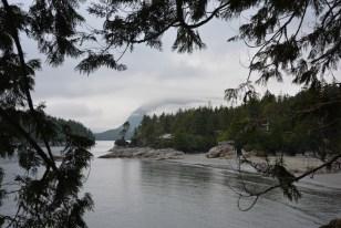 Uitzicht Tofino west canada