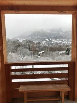 Uitzicht airbnb saint gervais