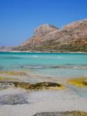 Uitzicht balos beach kreta griekenland