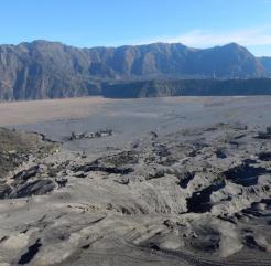 Uitzicht bromo vulkaan