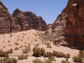 Uitzicht wadi rum