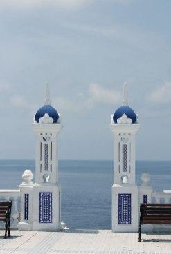 Uitzichtpunt in Benidorm aan zee