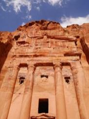 Urn tombe petra jordanie