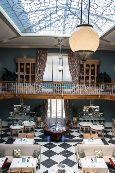 Vidago Palace hotel binnen
