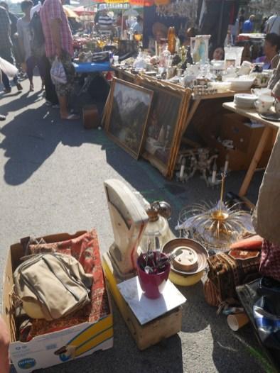 Vintage op de naschmarkt wenen