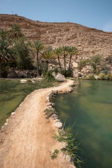 Wadi Shab oase oman vallei