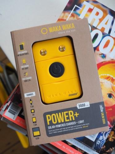 Wakwaka powerbank milieuvriendelijk share the sun