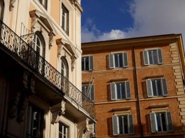 Wandelen door Rome