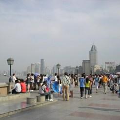 Wandelen in Shanghai