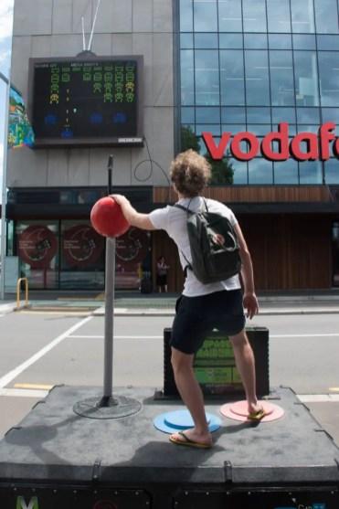 Wat te doen in Christchurch Nieuw Zeeland Vodafone game