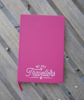 We are travellers notitie boekje