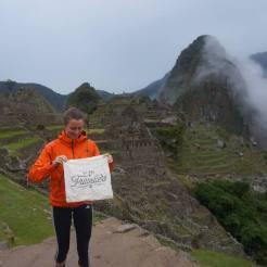 WeAreTravellers tas in Machu Picchu Peru