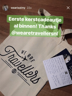 WeAreTravellers tas waar is aimy