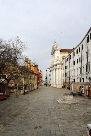 Winter italie Plein Venetië