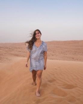 Woestijn Oman dune bashing duinen
