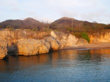 Zonsondergang op curacao