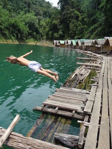 Zwemmen khao sok