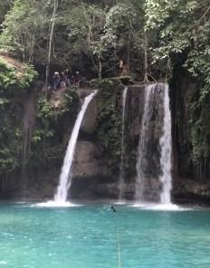 Zwemmen watervallen filipijnen