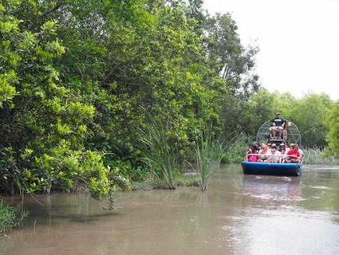 Everglades Alligator Farm airboat