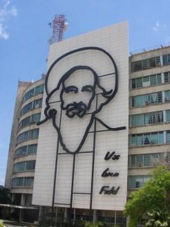backpacken cuba havana plein van de revolutie
