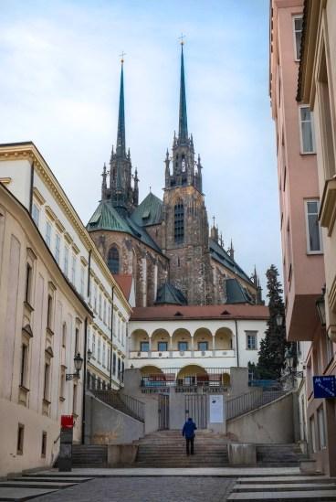 brno cathedral overdag