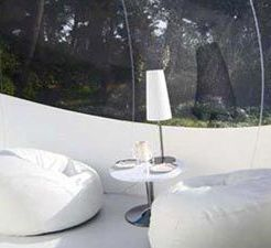 bubbel tent in frankrijk