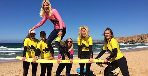 chicksonwaves surfcamp yogavakantie portugal