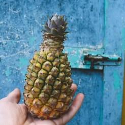 eiland antigua baby ananas