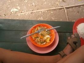 eten trekking Rinjani