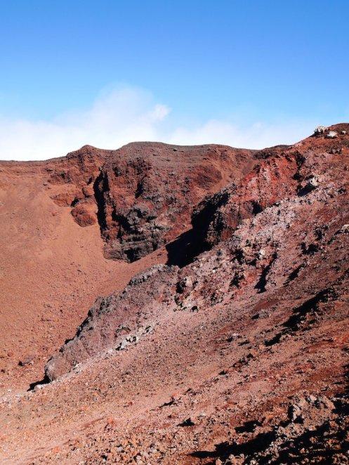 etna rood gesteente lava sicilie