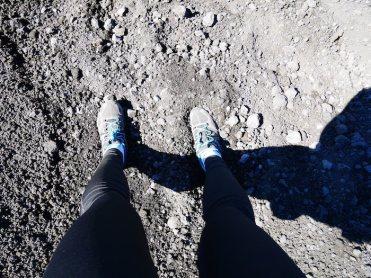 etna schoenen vulkaan